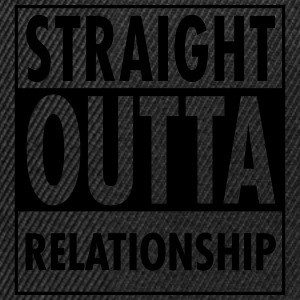 Straight Outta Relationship Tops - Snapback Cap