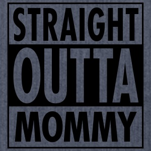 Straight Outta Mommy T-Shirts - Schultertasche aus Recycling-Material