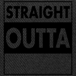 Straight Outta...(Your Text) T-shirts - Snapbackkeps