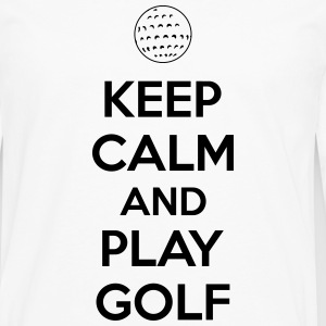 Keep calm and play golf Tee shirts - T-shirt manches longues Premium Homme