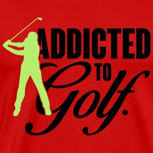 Addicted to golf Débardeurs - T-shirt Premium Homme