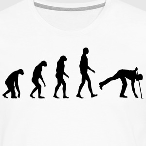 Evolution golf T-Shirts - Männer Premium Langarmshirt