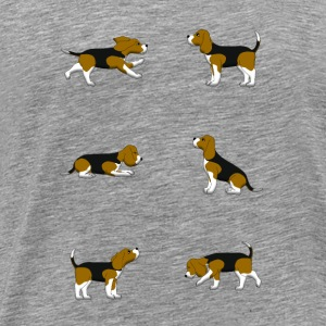 Beagle selection Long Sleeve Shirts - Men's Premium T-Shirt