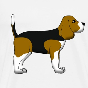 Beagle Long Sleeve Shirts - Men's Premium T-Shirt