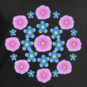 Flowers pink and blue Camisetas - Sudadera hombre de Stanley & Stella