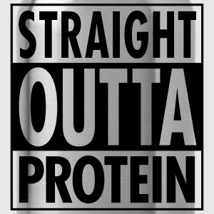 Straight Outta Protein T-shirts - Drinkfles