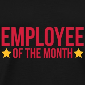 Employee Of The Month  Tassen & rugzakken - Mannen Premium T-shirt