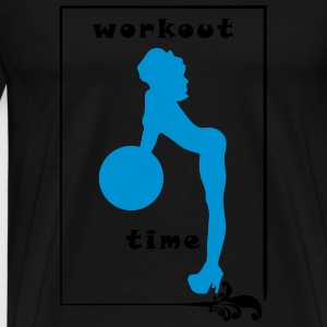 Workout Time - Men's Premium T-Shirt