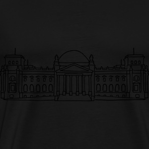 Reichstag building in Berlin Other - Men's Premium T-Shirt