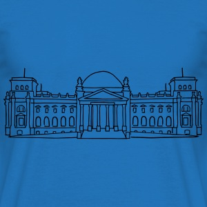 Reichstag building in Berlin  Aprons - Men's T-Shirt