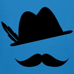 Funny Moustache (Hat) Oktoberfest Smiley - Outfit Bags & Backpacks - Men's Organic T-shirt