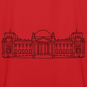 Reichstag building in Berlin Hoodies - Men's Football Jersey