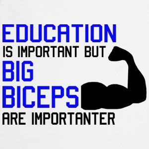 EDUCATION IS IMPORTANT - MOST IMPORTANT BICEPS Babybody - Kokkeforkle