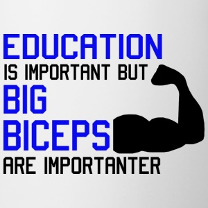 EDUCATION IS IMPORTANT - MOST IMPORTANT BICEPS Top - Tazza