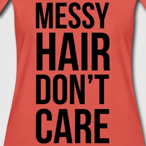 Messy Hair Tops - Vrouwen Premium T-shirt