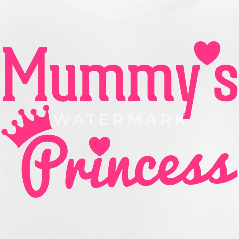 Mummy's Princess Shirts - Baby T-Shirt