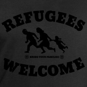 Refugees Welcome T-Shirts - Men's Sweatshirt by Stanley & Stella