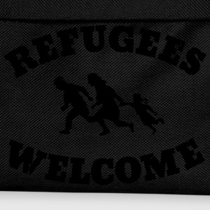 Refugees Welcome T-Shirts - Kids' Backpack