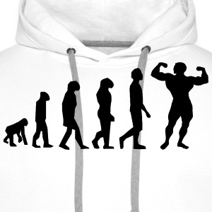 Evolution Body Building - Mannen Premium hoodie