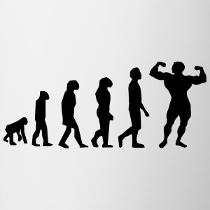Evolution Body Building - Mug