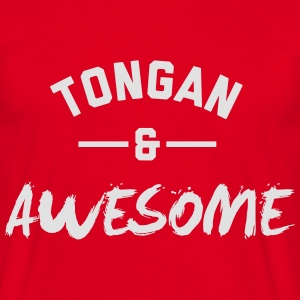 Tonga Awesome Rugby – Hoodies - Men's T-Shirt