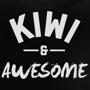 New Zealand Awesome Rugby – Kids tshirts - Baby T-Shirt