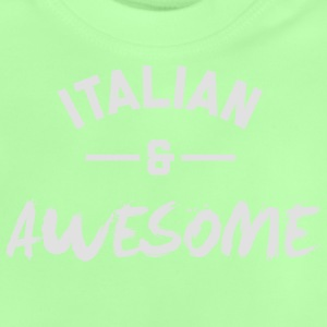 Italy Awesome Rugby – Kids tshirts - Baby T-Shirt