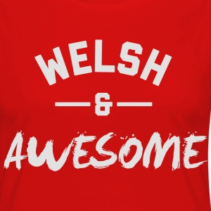 Wales Awesome Rugby – Mens tshirts - Women's Premium Longsleeve Shirt