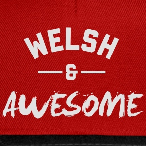 Wales Awesome Rugby – Mens tshirts - Snapback Cap
