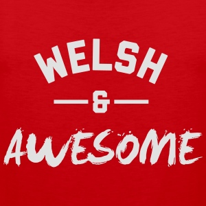 Wales Awesome Rugby – Mens tshirts - Men's Premium Tank Top