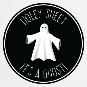 Holey Sheet - It's A Ghost! T-Shirts - Cooking Apron