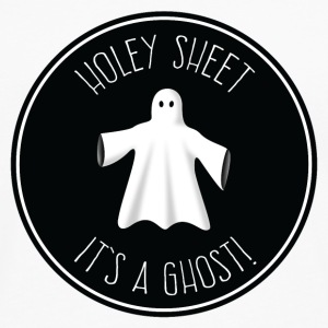 Holey Sheet - It's A Ghost! Mugs & Drinkware - Men's Premium Longsleeve Shirt