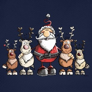 Santa Claus with reindeer T-Shirts - Baseball Cap