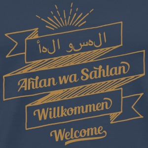 Welcome (arabic, german, english) Other - Men's Premium T-Shirt