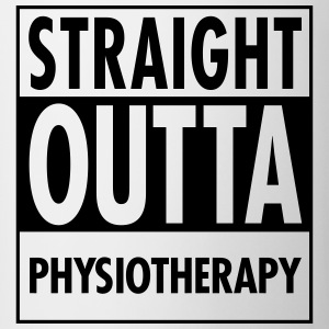 Straight Outta Physiotherapy T-Shirts - Mug
