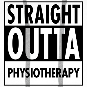 Straight Outta Physiotherapy Tops - Men's Premium Hoodie