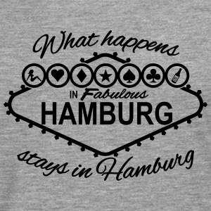 What happens in Hamburg stays in Hamburg Las Vegas - Männer Premium Langarmshirt