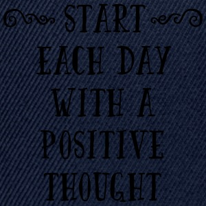 A Positive Thought  T-shirts - Snapbackkeps