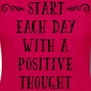 A Positive Thought  Tee shirts - T-shirt manches longues Premium Femme
