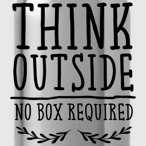 Think Outside - No Box Required Tee shirts - Gourde
