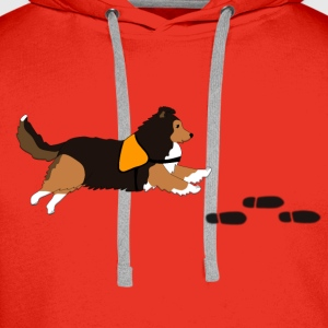 Free search Sheltie Shirts - Men's Premium Hoodie