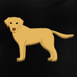 Labrador front beige Shirts - Baby T-Shirt