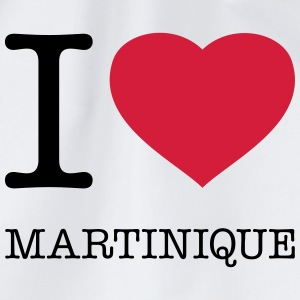I LOVE MARTINIQUE Camisetas - Mochila saco