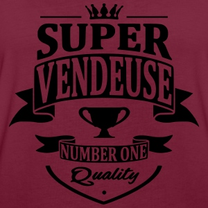 Super Vendeuse Sweat-shirts - T-shirt oversize Femme
