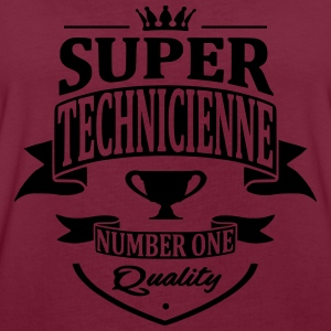 Super Technicienne Sweat-shirts - T-shirt oversize Femme