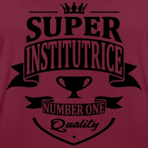 Super Institutrice Sweat-shirts - T-shirt oversize Femme