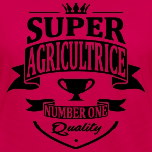 Super Agricultrice Sweat-shirts - T-shirt manches longues Premium Femme
