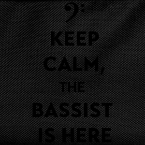 Keep calm, the bassist is here Mugs & Drinkware - Kids' Backpack