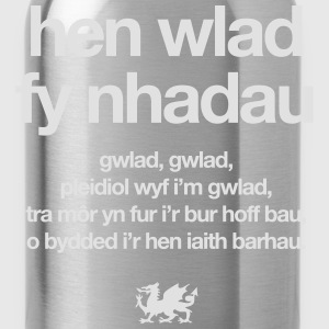 Wales rugby - Hen wlad - Kids tshirts - Water Bottle