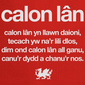Wales rugby - Calon lân - Womens tshirts - Cooking Apron